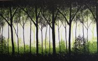 Black And Green Paintings 24 Free Hd Wallpaper