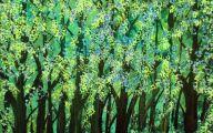 Black And Green Paintings 7 Desktop Wallpaper