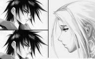 Black And White Anime Pictures  5 Background