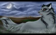 Black And White Anime Wolves  15 Cool Wallpaper