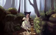 Black And White Pictures Anime Forest  19 Hd Wallpaper