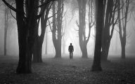 Black And White Pictures Anime Forest  22 Desktop Wallpaper
