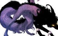 Black Anime Wolf  10 Desktop Background