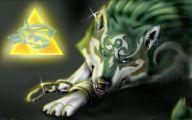 Black Anime Wolf  20 Desktop Wallpaper