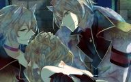 Black Anime Wolf  30 Widescreen Wallpaper