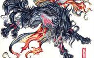 Black Anime Wolf  5 Cool Hd Wallpaper
