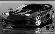 Black Sports Car Wallpaper  3 Wide Wallpaper