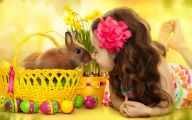 Cute Black Bunny Hd Wallpaper  33 Background