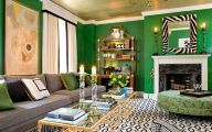Green And Black Living Room  10 Free Wallpaper
