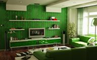 Green And Black Living Room  11 Cool Hd Wallpaper