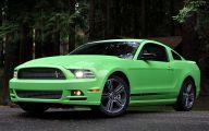 Green And Black Mustang  14 High Resolution Wallpaper