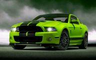 Green And Black Mustang  28 Desktop Wallpaper