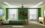 Green And Black Room  15 Desktop Wallpaper