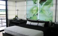 Green And Black Room  2 Widescreen Wallpaper