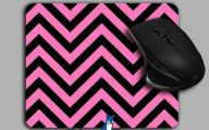 Pink And Black Chevron  12 High Resolution Wallpaper