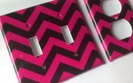 Pink And Black Chevron  13 Background Wallpaper