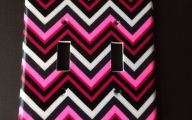 Pink And Black Chevron  16 High Resolution Wallpaper