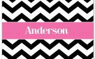 Pink And Black Chevron  18 Widescreen Wallpaper