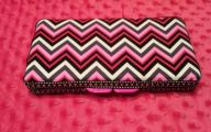 Pink And Black Chevron  19 Widescreen Wallpaper