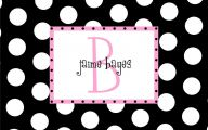 Pink And Black Wallpaper Borders  1 Background