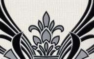 Silver And Black Damask Wallpaper  9 Background