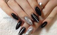 Black And Silver Nail Designs 6 Wide Wallpaper