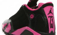 Pink And Black Jordans 15 Background