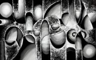 Black And White Canvass 1 Widescreen Wallpaper