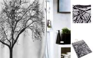 Black And White Curtain 20 Wide Wallpaper