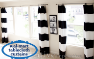 Black And White Curtain 8 Widescreen Wallpaper