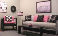 Pink And Black Decor 3 Widescreen Wallpaper