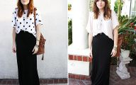 Plain Black Dress 224 Background Wallpaper