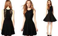 Plain Black Dress 228 Desktop Wallpaper