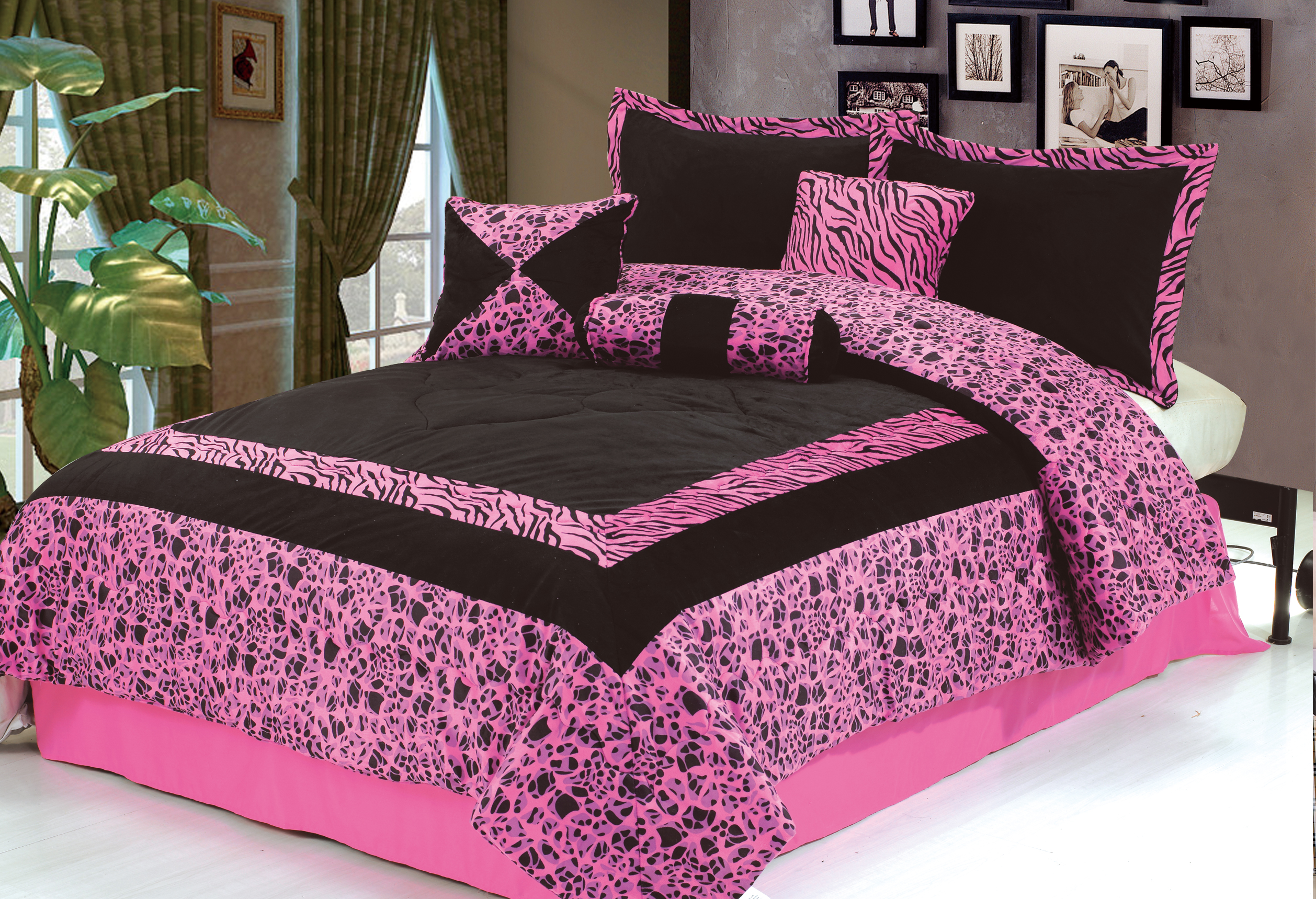 Black and pink bed sheets - Black And Pink Bedspreads 11 Cool Wallpaper Hdblackwallpaper Com