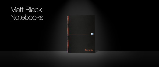 Black And Red Notebooks 1 Desktop Background