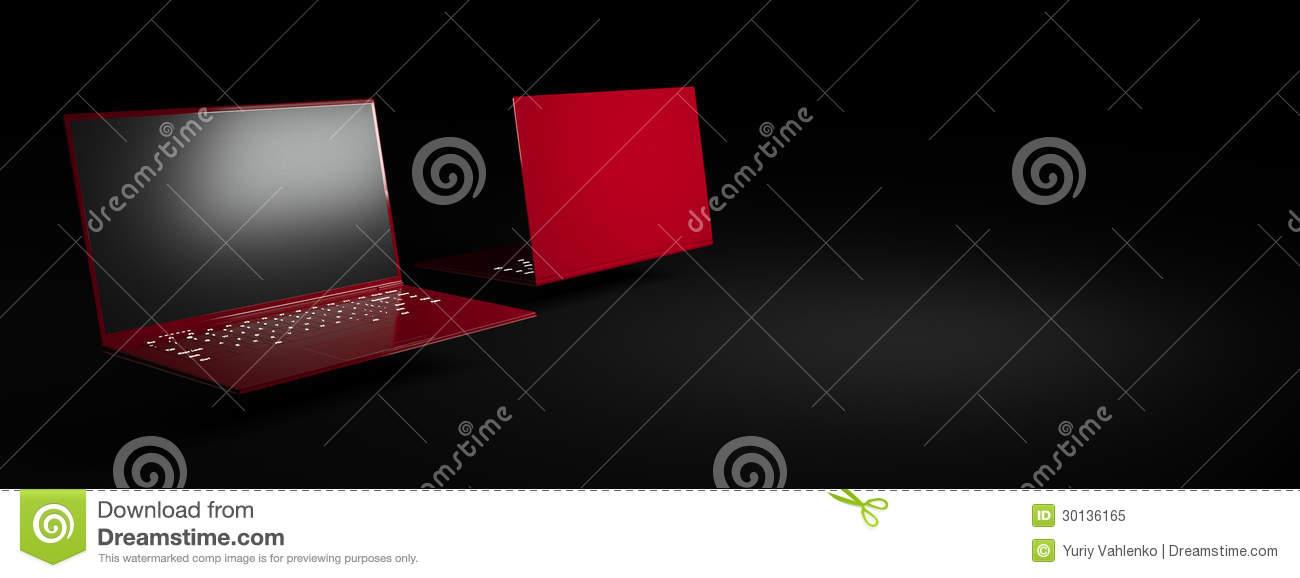 Black And Red Notebooks 29 Desktop Background