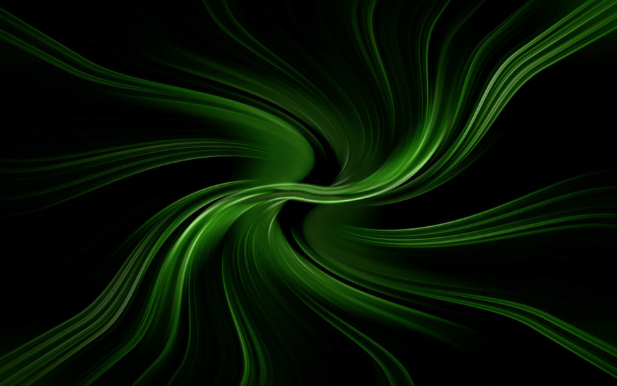 Green and Black Color Mix