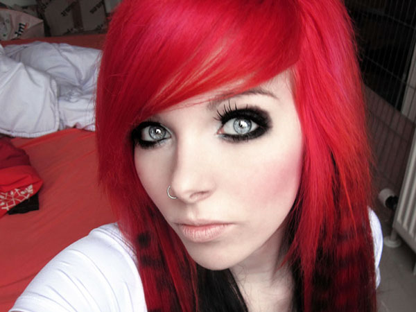 Hair Color Black And Red 18 Free Wallpaper ...