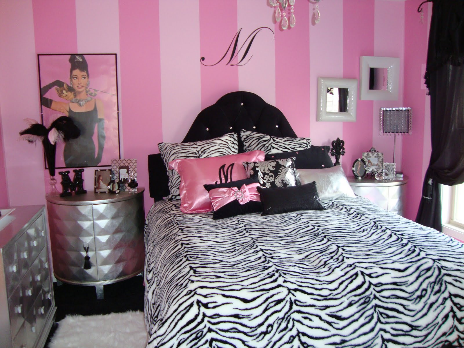 Pink And Black Wallpaper For Bedroom Pink And Black Decor 21 Free Hd Wallpaper Hdblackwallpapercom