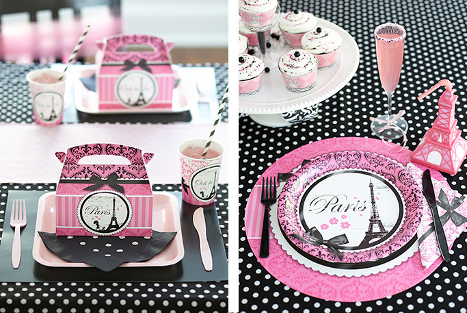 Pink And Black Party Decorations 12 Cool Wallpaper