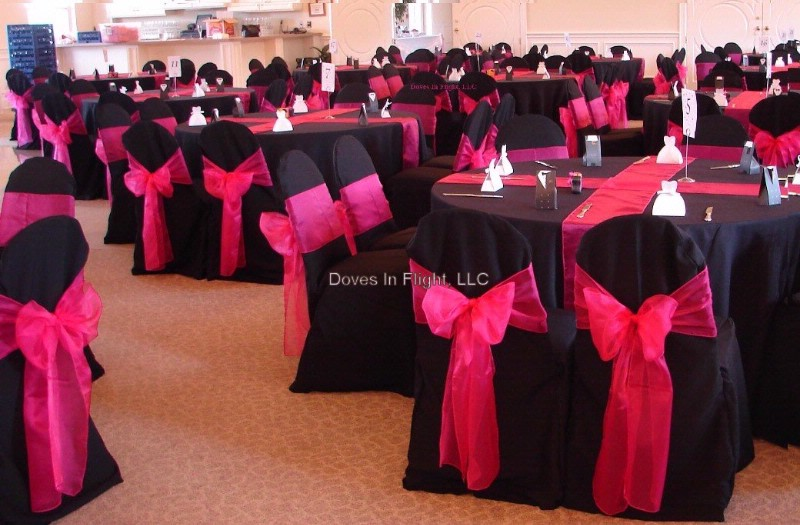Pink And Black Wedding Centerpiece Ideas : Pink and black party decorations high resolution