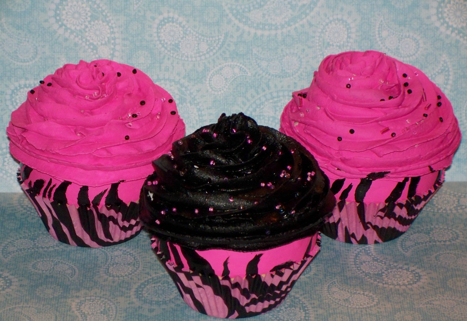 birthday decorations pink and black ~ cake ideas and birthday