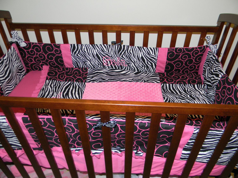 Pink And Black Zebra Bedding 21 Widescreen Wallpaper