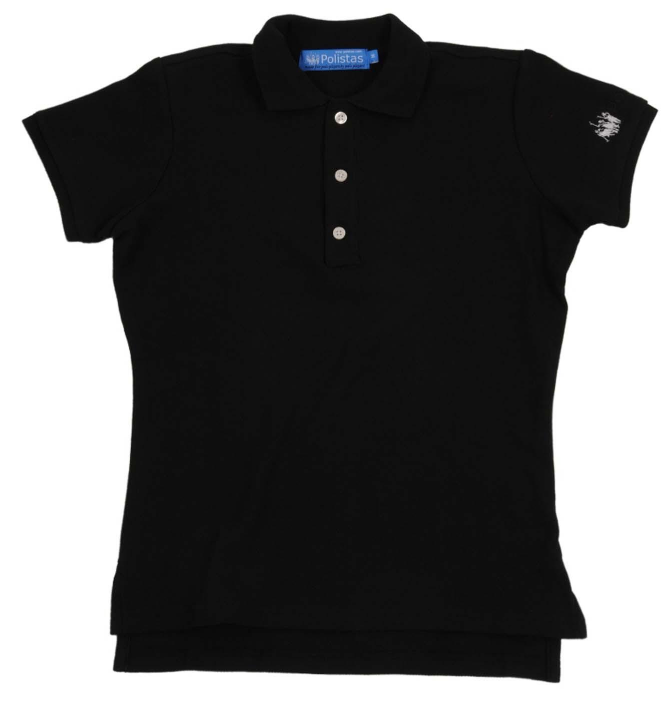 Plain Black Polo Shirt 1 Background Wallpaper