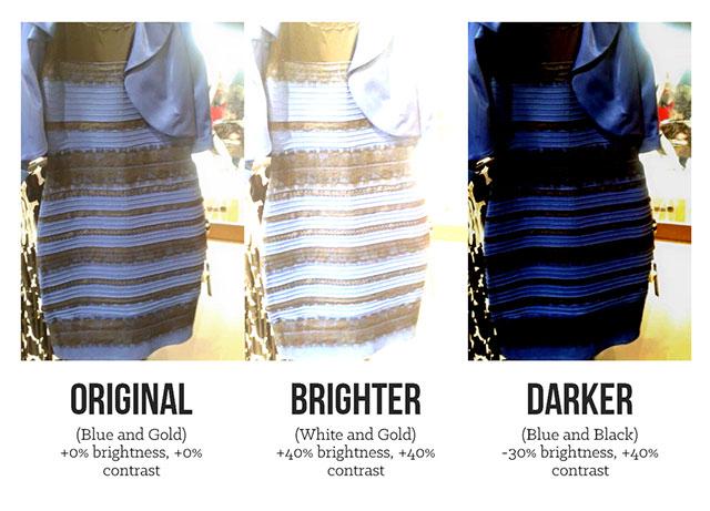 Black And Blue Dress Original 9 Cool Wallpaper