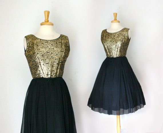 Black And Gold Dress 8 Wide Wallpaper