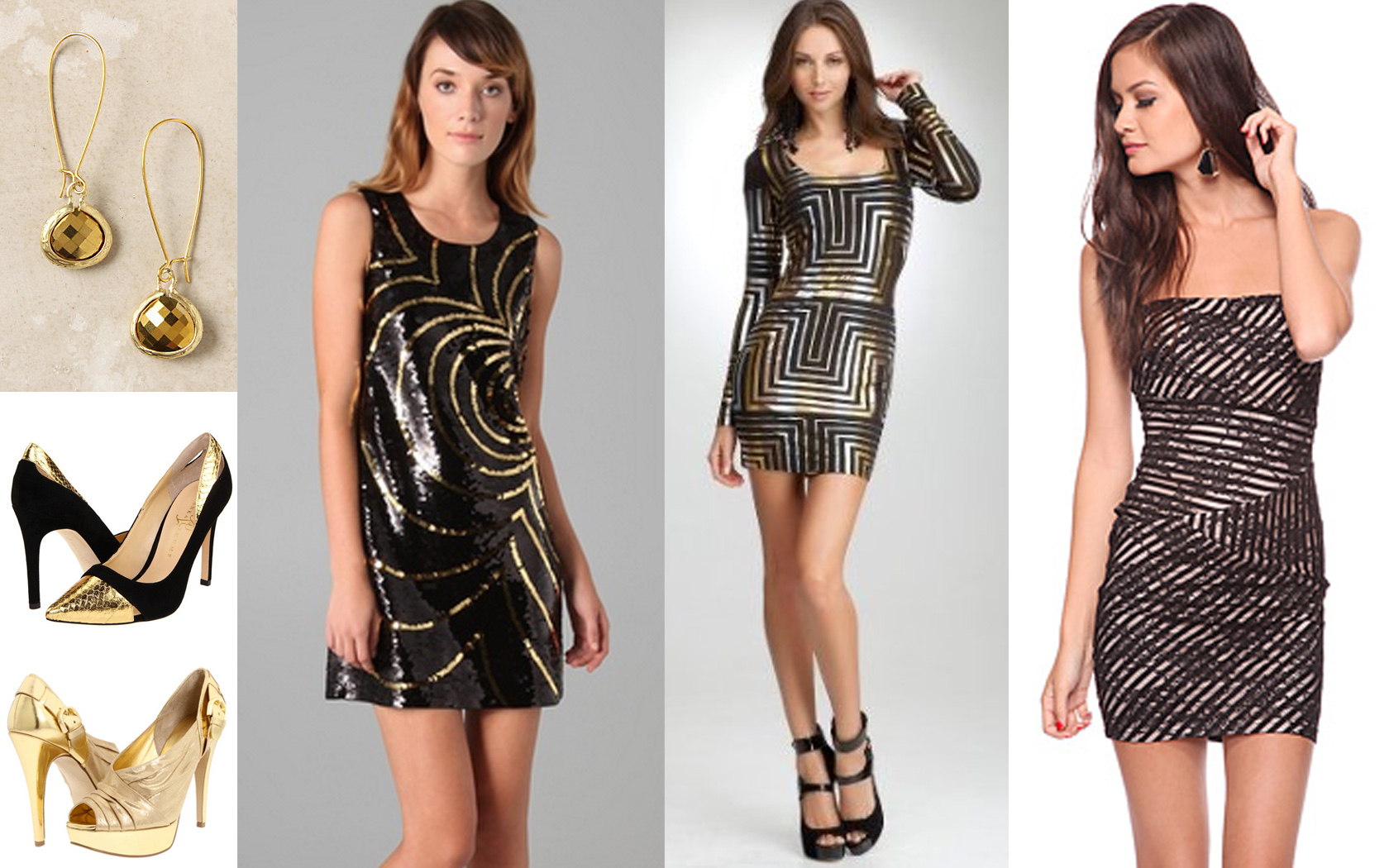 Black And Gold Dresses For Women 26 Hd Wallpaper