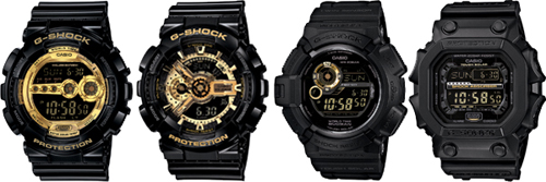 Black And Gold G Shock 36 Free Wallpaper