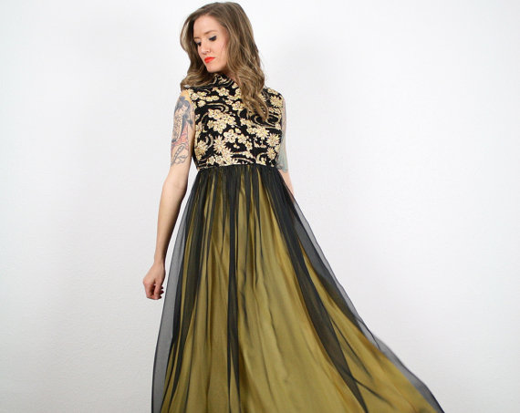 Black And Gold Gown 11 Cool Wallpaper