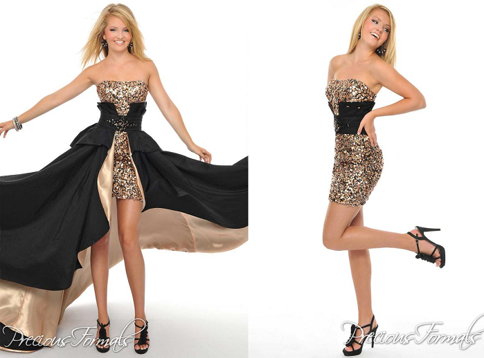 Black And Gold Prom Dresses 12 Background - Hdblackwallpaper.com